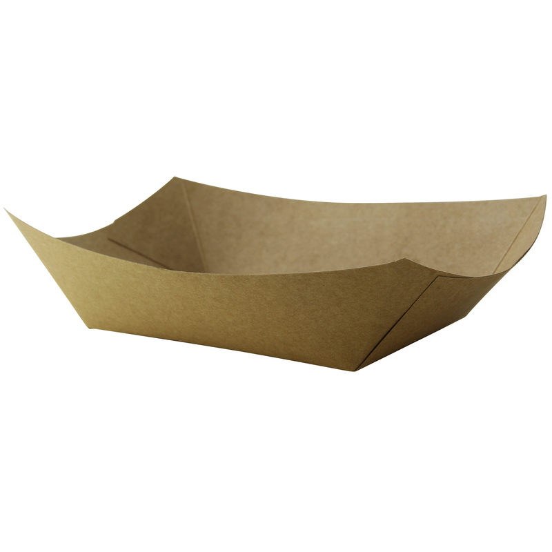 Kraft Paper Boats - 1.25 lb - 8.7 in.