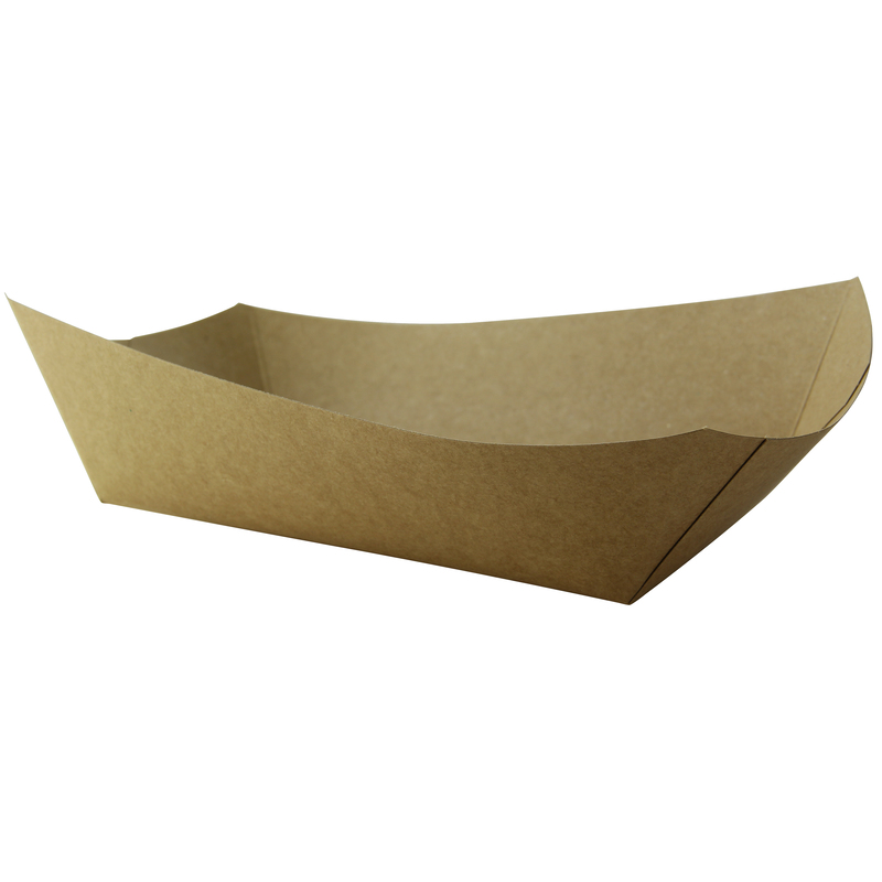 Kraft Paper Boats - 4.5 lb - 9.5 in.