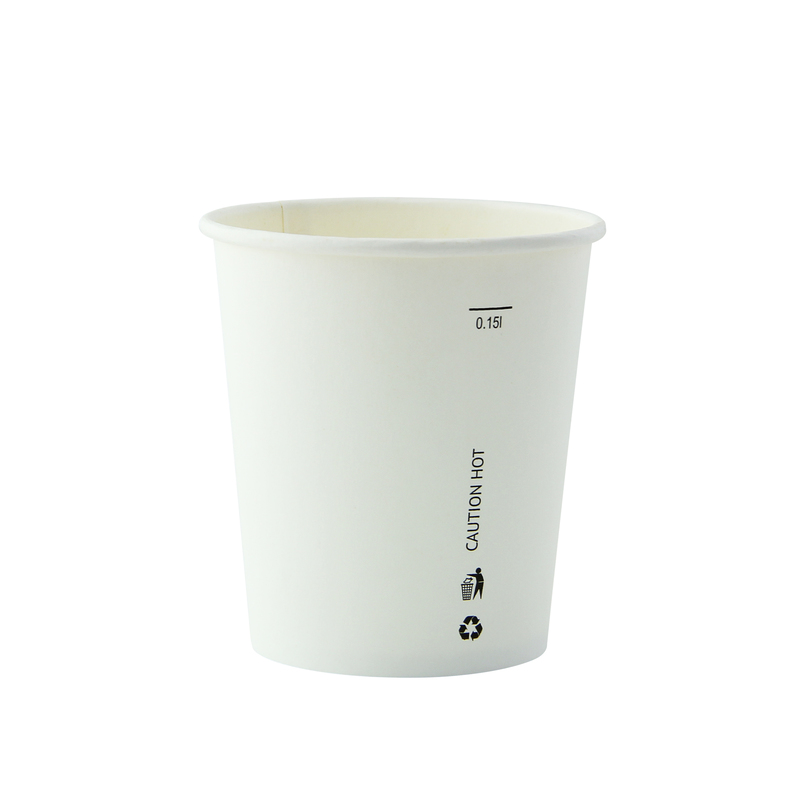 White Soup Cup -6oz Dia:2.85in H:3in