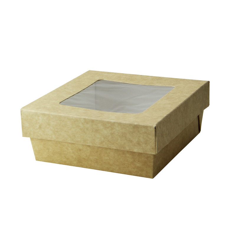 Square Kray Box With Window - 4.7 x 2 in.