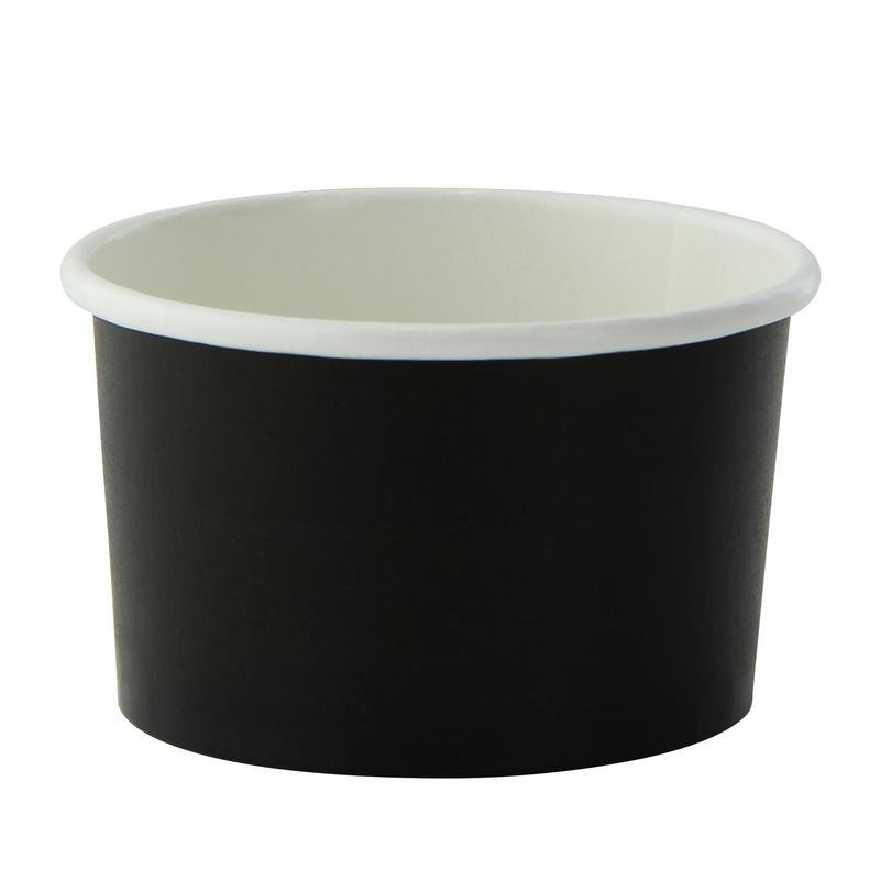 Black Paper Cup -2oz Dia:2.42in H:1.45in