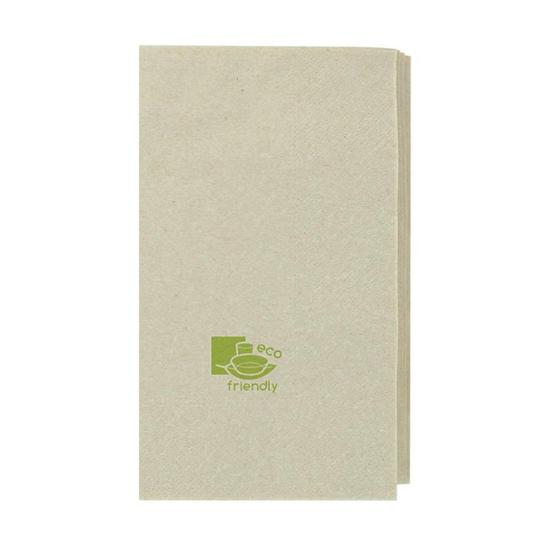 Kraft Tissue Napkin 2 Ply 1/4 Fold - 15 in.