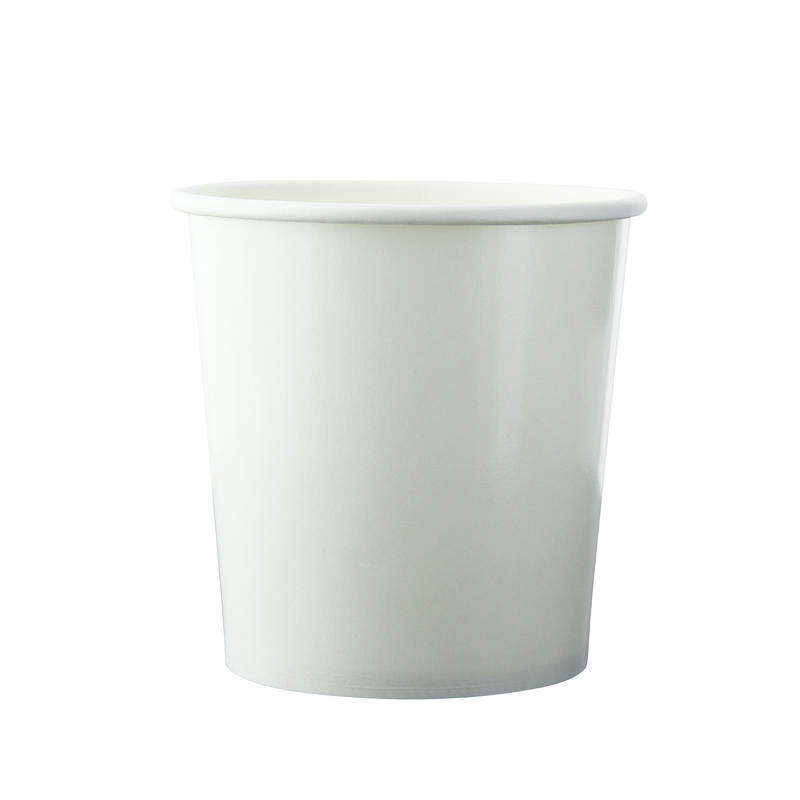 White Soup Cup (Lid Optional) -16oz Dia:3.8in H:3.85in