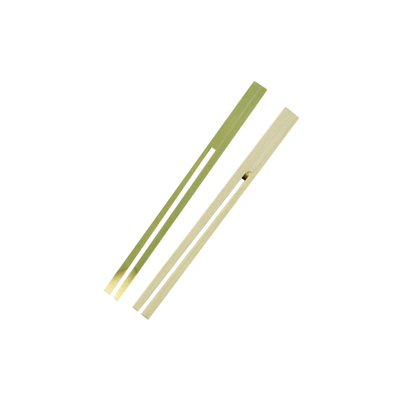 Dual Prong Bamboo Double Pick Skewer -  L:3.9 x W:.23 x H:.1in