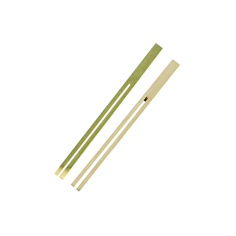 Dual Prong Bamboo Double Pick Skewer -  L:5.5 x W:.3 x L:.1in