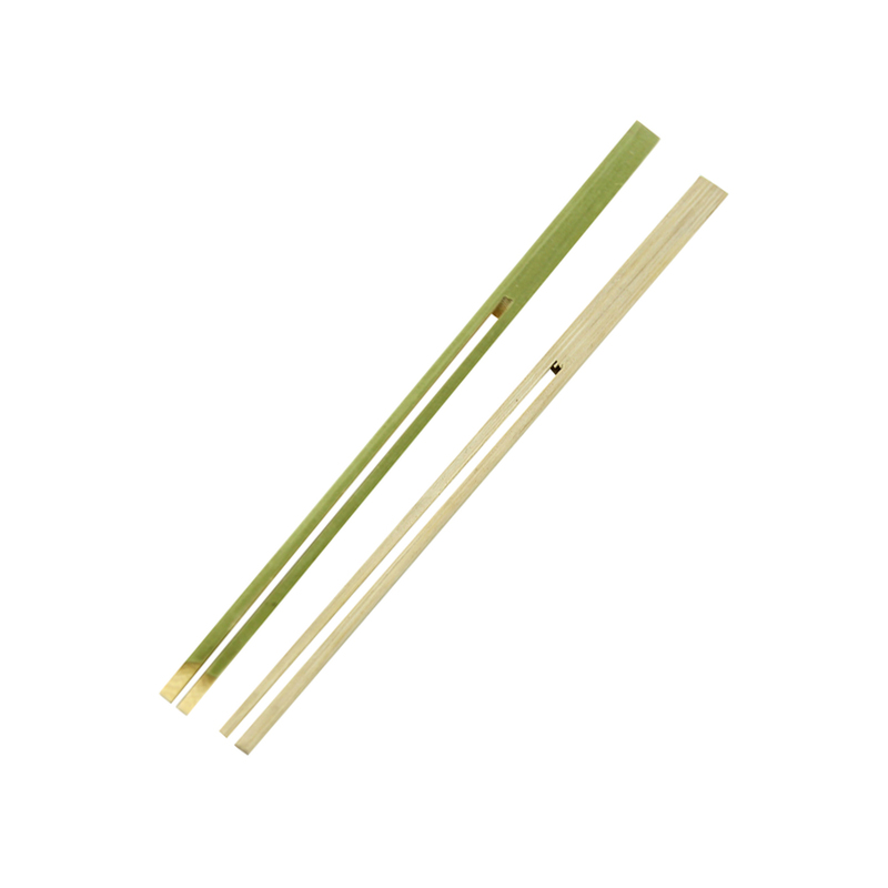 Dual Prong Bamboo Double Pick Skewer -  L:7.2 x W:.3 x H:.1in