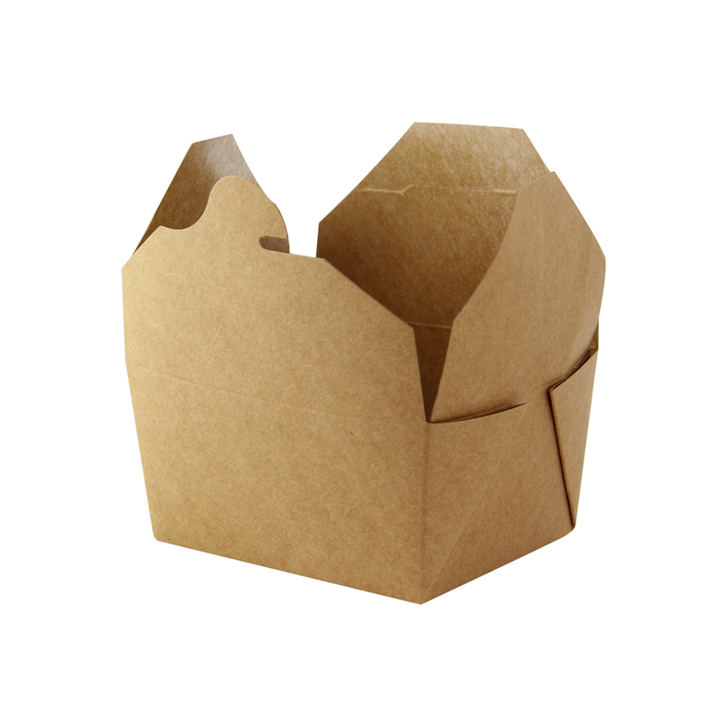 Brown Meal Box - 33oz