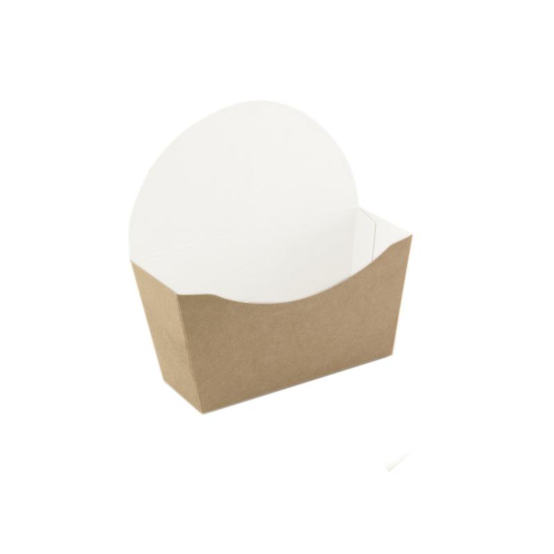 Kraft Bagel Box -  L:4.7 x W:4.7 x H:1.75 in.