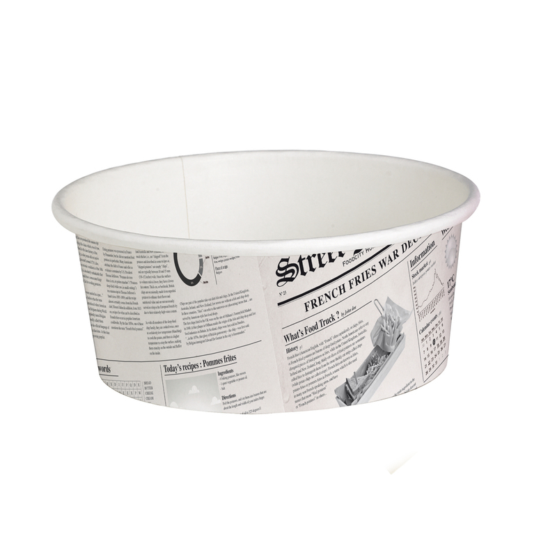 Deli News Printed Containers - 16oz