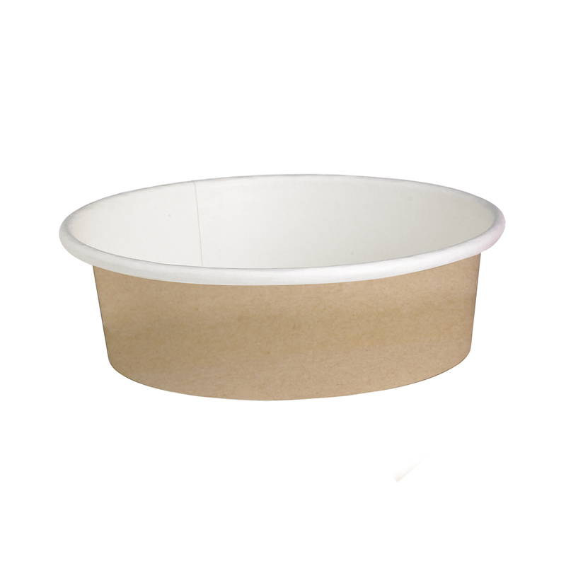 Round Kraft Containers - 12oz
