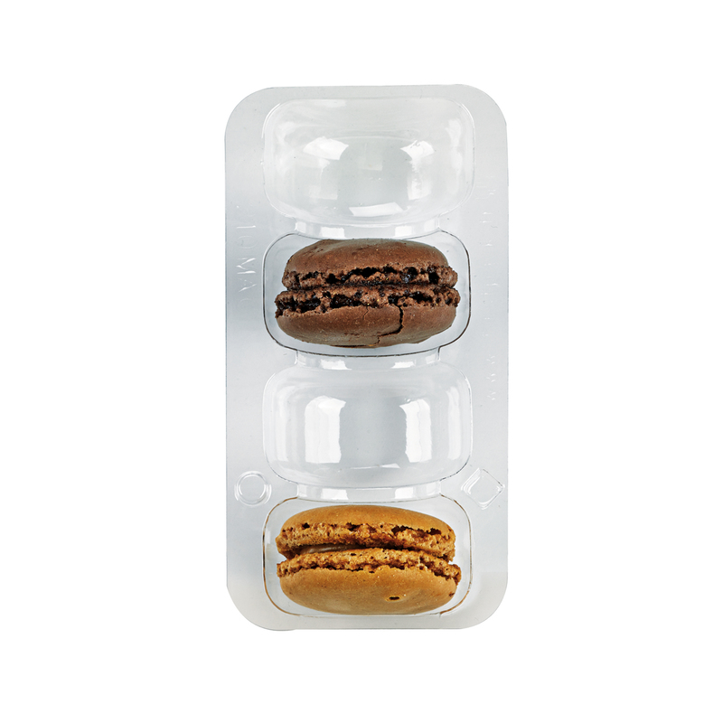 Insert 4 Macarons With Clip Closure