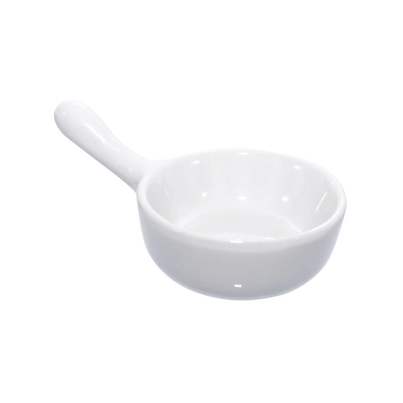 Cook Mini Porcelain Saucepan -1oz Dia:2.45in H:.98in