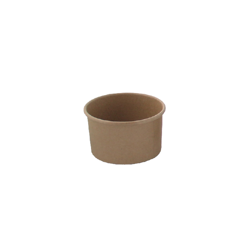 Brown Kraft Hot & Cold Paper Cup - 3.3 oz