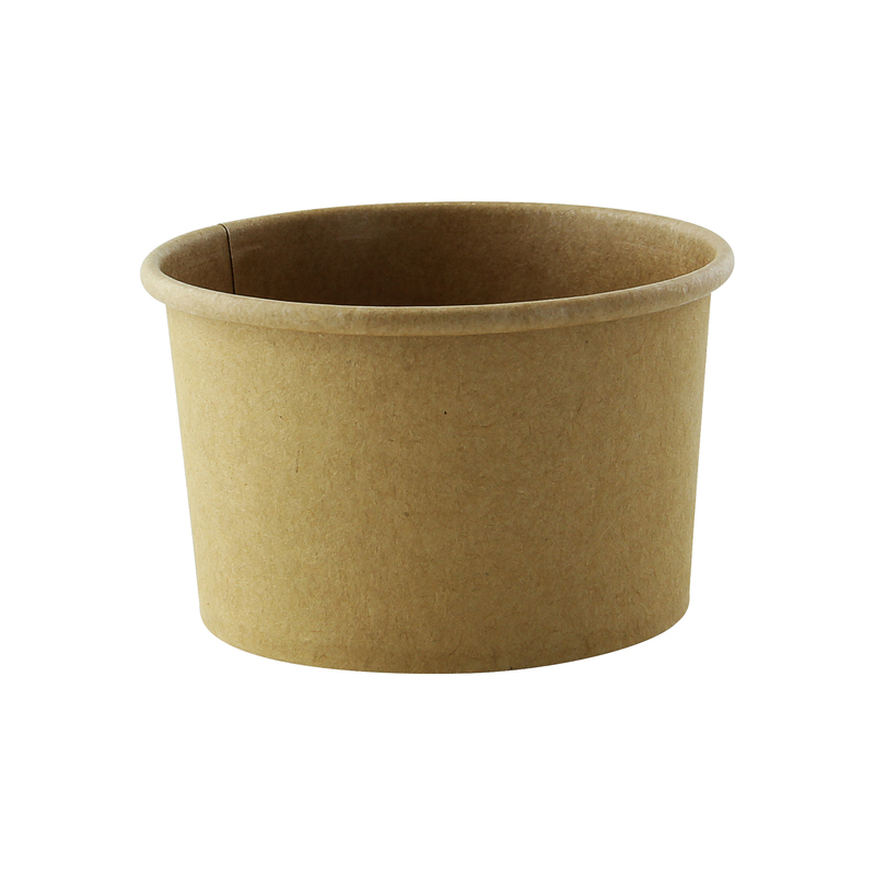 Brown Kraft Soup Cup - 8oz Dia: 3.6