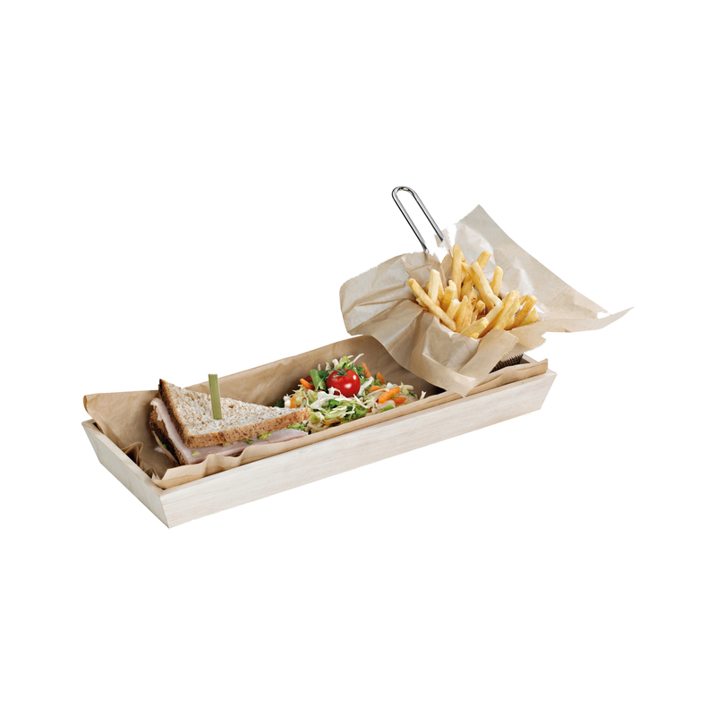 NOAH15 Heavy Duty Wooden Tray -  L:17.2 x W:7.6 x H:1.5in