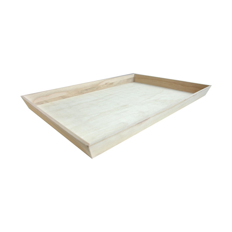 NOAH54 Heavy Duty Wooden Tray -  L:21.9 x W:14.4 x H:1.55in