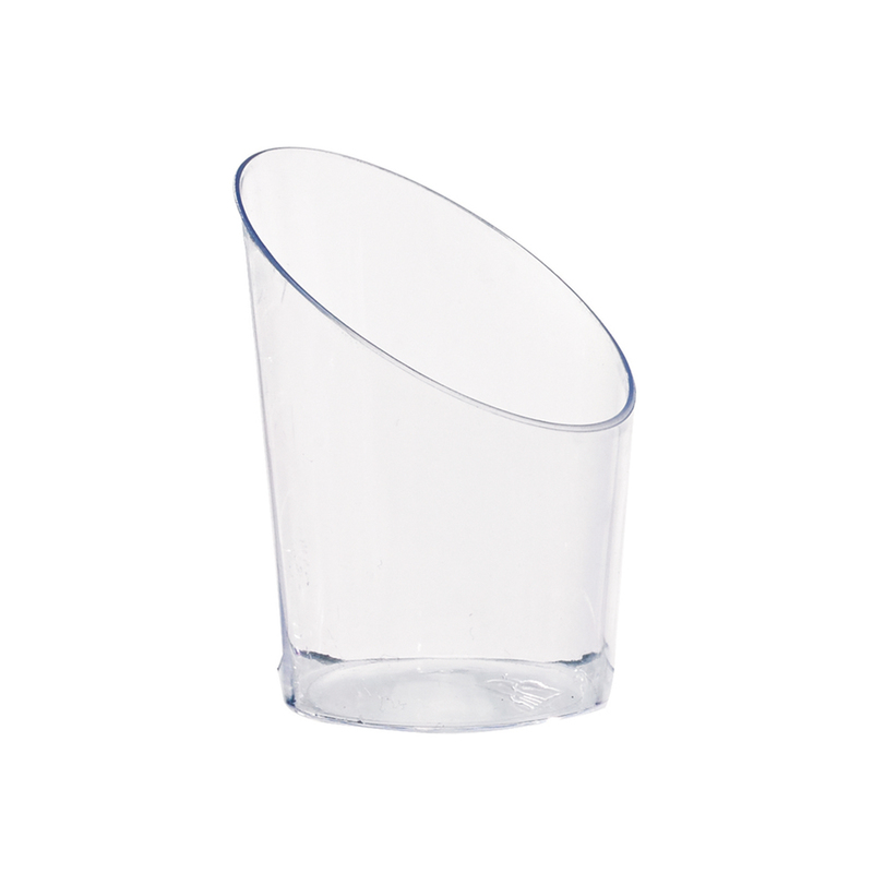 Angle Cut Mini Cup - 1.8 in.