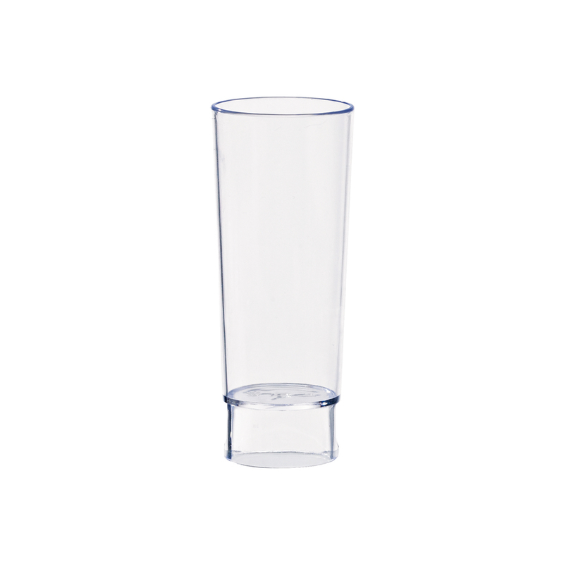 Tall Plastic Shot Glass - 3.6 in.