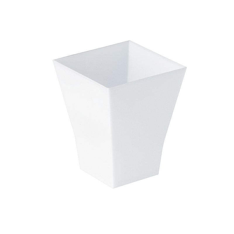 """TAITI'' Square Cup 2 oz 1.7 x 1.7 x 2.1 in"