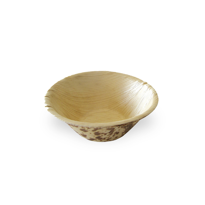 Bamboo Leaf Double Layer Ramekin Bowl -2oz Dia:3in H:1.1in