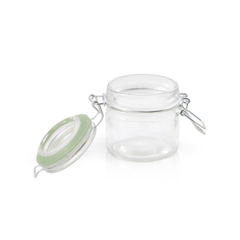 Clamp Lid Glass Seal Jars - 3.4oz