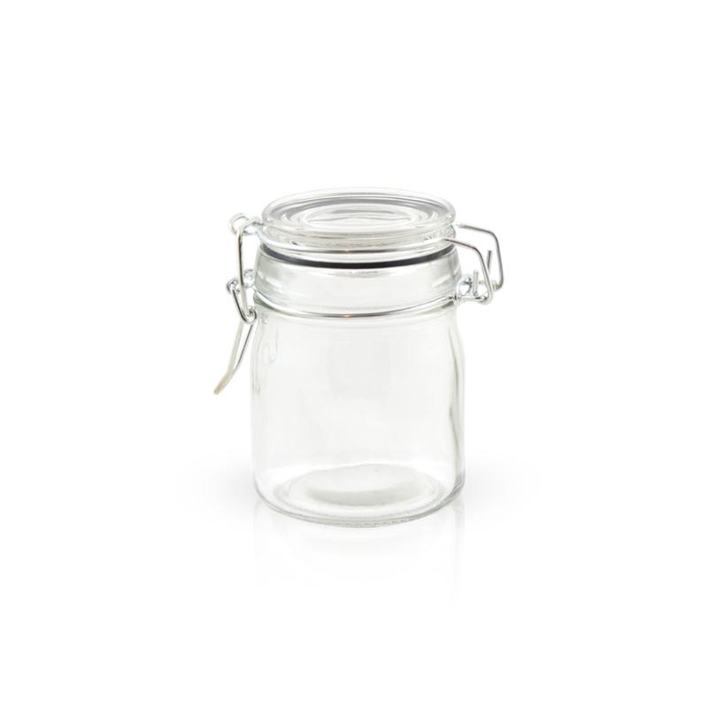 Clamp Lid Mini Glass Seal Jars - 5oz
