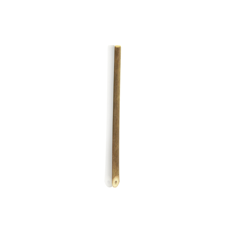 Durable Cocktail Bamboo Straw - 5.7 Inches
