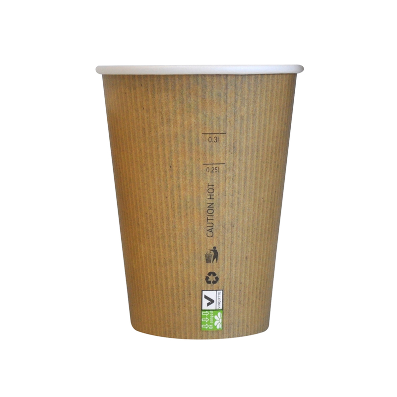 Brown Paper Nature Cups 12oz