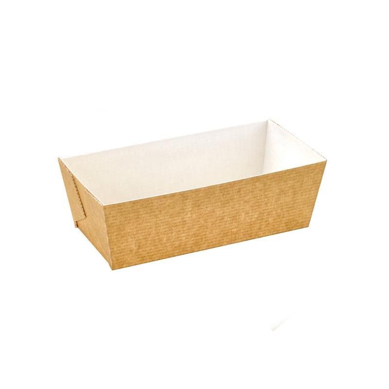 Rectangular microflute baking mold - 5.5 x 2.6 x 2 in