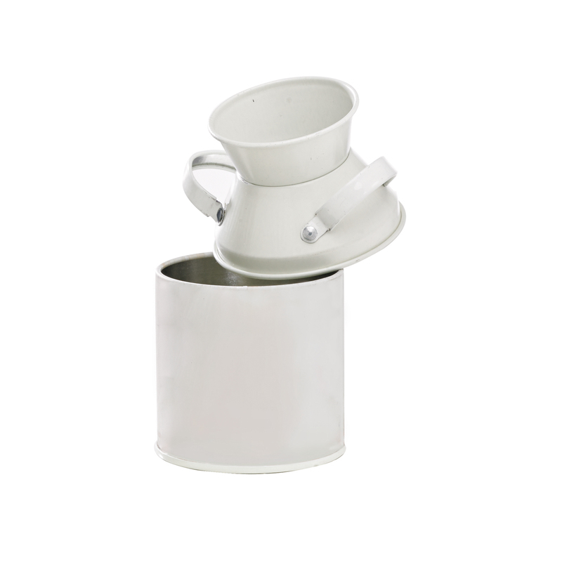 Mini Metal Milk Pot - 4 in.