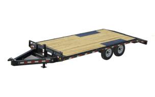 Flat Deck Trailer >> Trailers Pj Trailers