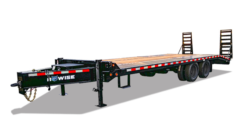 I-Beam Frame Deckover Equipment Trailer