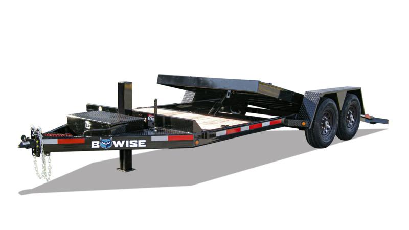 Tube Frame Hydraulic Tilt Trailer