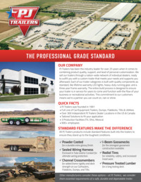 PJ Trailers Company Overview