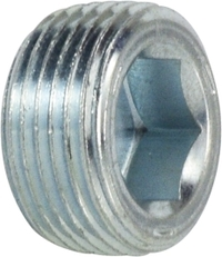 Flush Hollow Hex Plug with 7/8 Taper