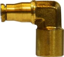 MIDLAND Metal 1//4 Tube X 1//8 MIP Elbow 25224