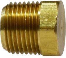 Cored Hex Plug