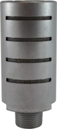 Aluminum High Flow Muffler