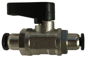 Ball Valve With Push Fit Connections