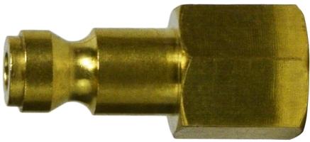 Brass Female Parker Plug 1/4