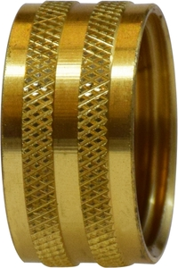 Lead Free Garden Hose Knurled and Hex Nut