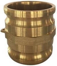 Spool Adapter Brass