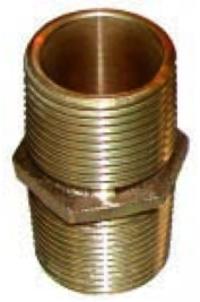 Bronze Hex Nipple-PN