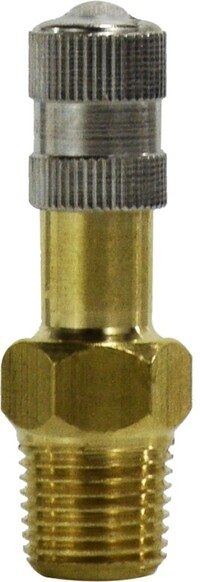 Tank and Vent Valve 1/8 NPT 1.207 Long Spring Cord