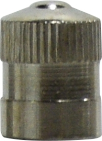 Nickel Plated Dome Cap