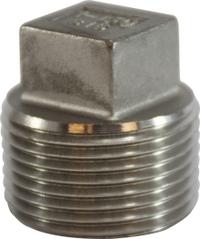 Square Head Plug 316 S.S.