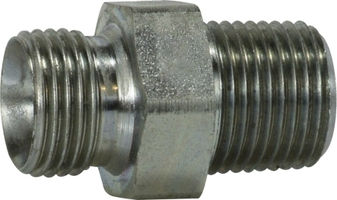 BSPP to Male Pipe Nipple
