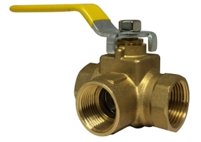 Side Outlet 3 Way Ball Valve