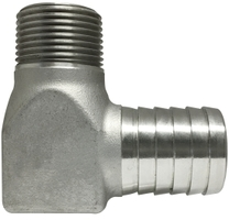 #304 Barb for PL Pipe X MIP Elbow