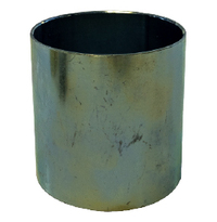 "Plated Steel Sleeve for 8"" Hose"